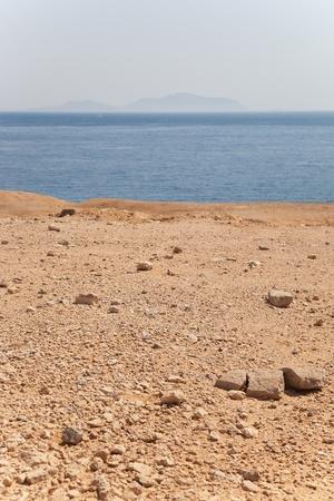 The coastal area of Sharm-El-Sheikh on the red sea, Egypt.