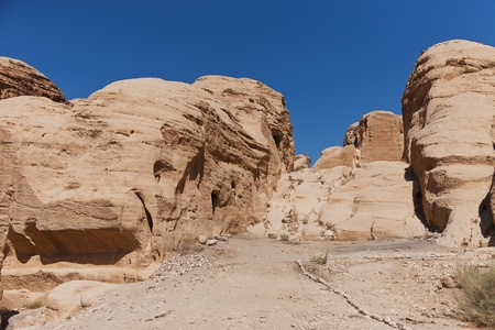The ancient city of Petra, Jordan  Stock Photo - 12454802