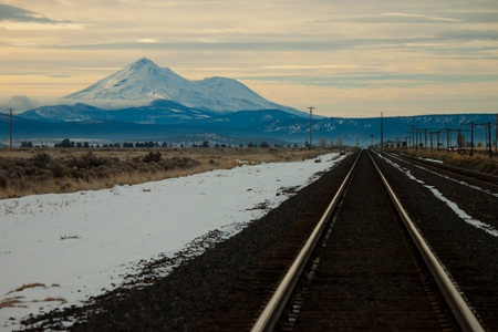 Rail Road to Mt Shasta