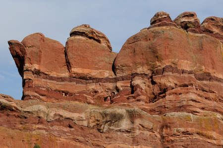Geologic Layers in Red Rocks