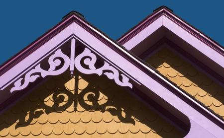 gables: Architectural detail: Lavender gables