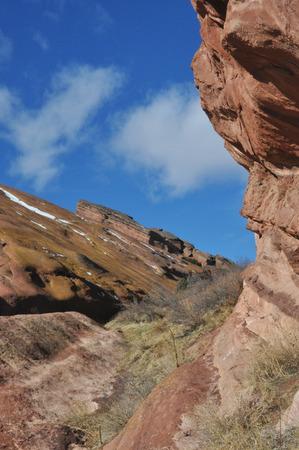 red rocks: Red Rocks Colorado landscape
