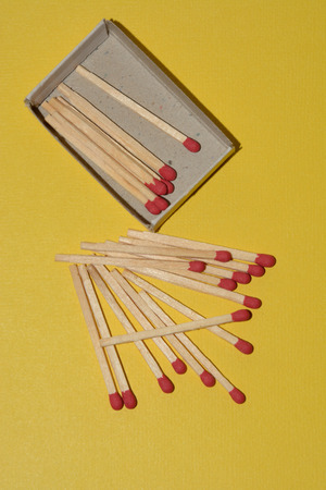 Box of matches and matches