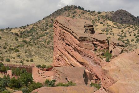 Red Rocks Park Colorado Landscape Reklamní fotografie