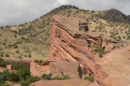 morrison: Red Rocks Park Colorado Landscape Stock Photo