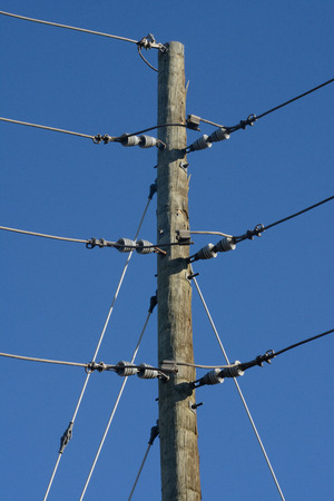 power: Electric power lines