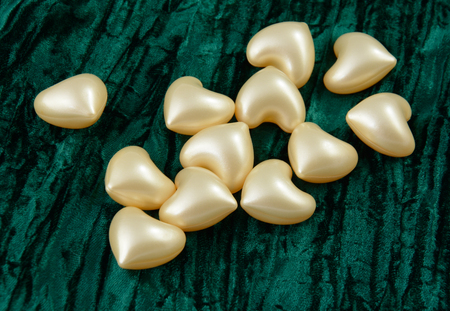 Heart bath oil beads