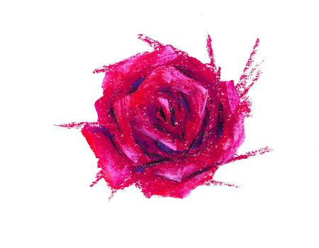 Rose for printing on fabric, background or pattern 免版税图像 - 139602351
