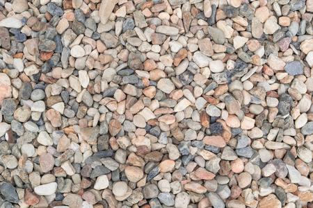 Modelo De La Textura De Guijarros Y Grava Pequeas Piedras En El