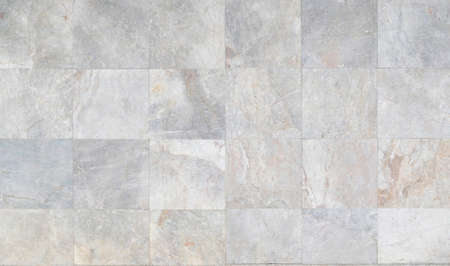 Marble stone wall background in elegance square white and gray natural pattern texture for background and wallpaper
