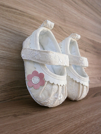 Baby girl shoes  photo