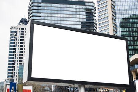 Billboard advertising mockup and template Stockfoto