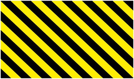 warning danger sign, rectangle frame yellow and black color background