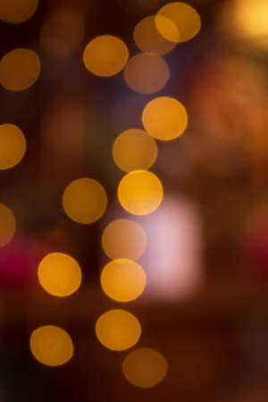 Bokeh background. Happy new year, merry christmas and Valentine's day, greeting card, gift packages.