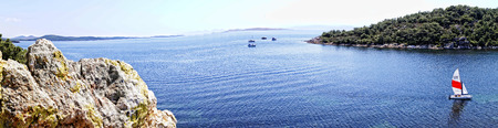 aegean: Aegean Bay Stock Photo