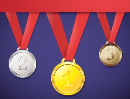 awards ceremony: medal