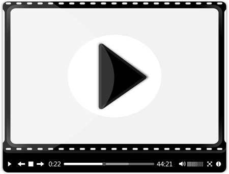 video player Stock Vector - 22170534