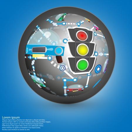 auto background Vector
