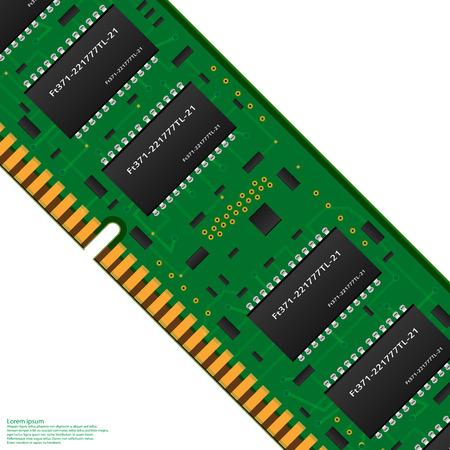 computer memory Illustration