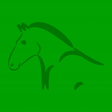 Horse  2014, Chinese New Year 2014  Vector