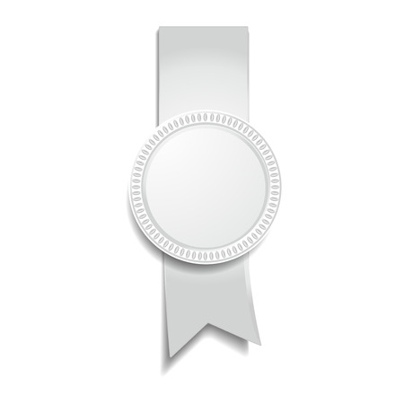 medal of gray Vector