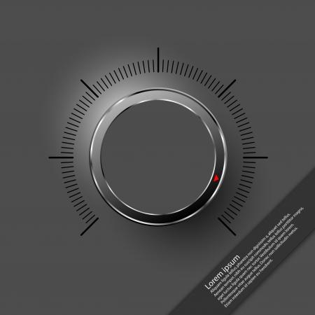 turn dial: Volume control Illustration