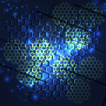 honey, honeycomb Vector