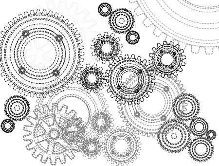 gearwheel: gears Illustration