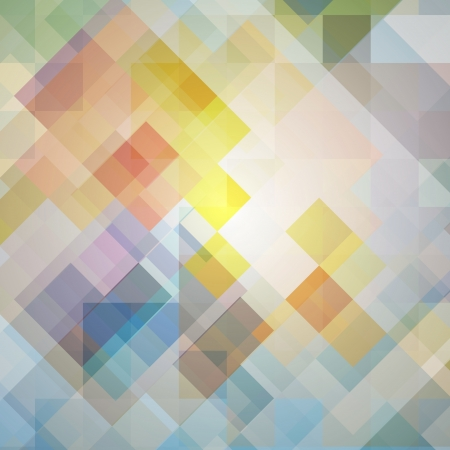 colored background of squares Illustration