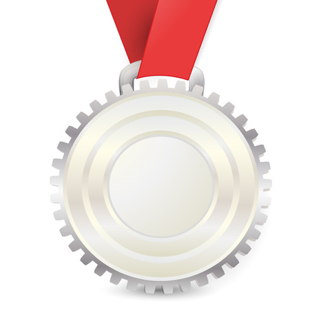 medal, gear Vector