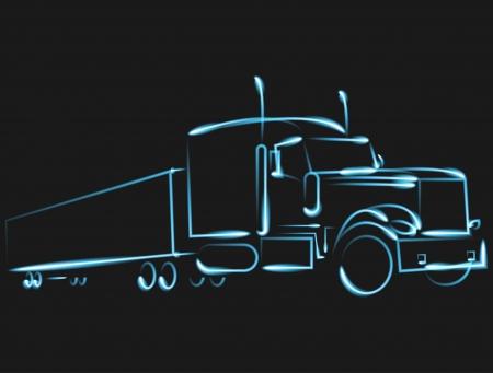 trailer: trucking, car