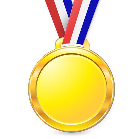 gold medal: medal