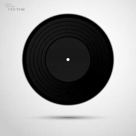 vinyl record: vinyl