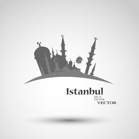 easterly: Istanbul Turkey Illustration
