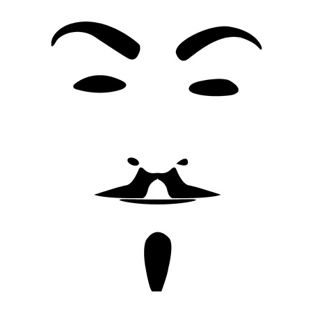 hair mask: mask