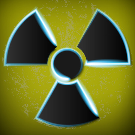 radiation danger Stock Vector - 28275207