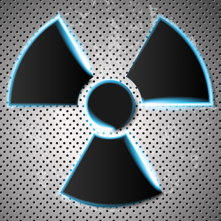 radiation danger Vector