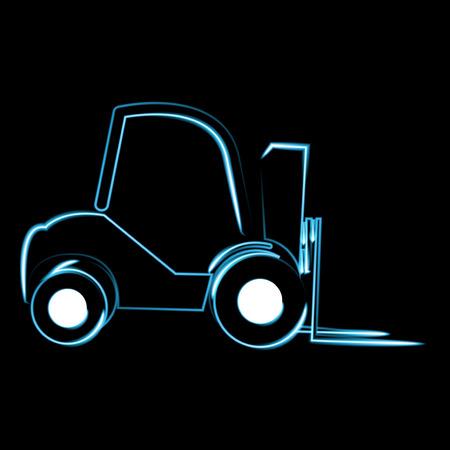 skid steer loader: loader