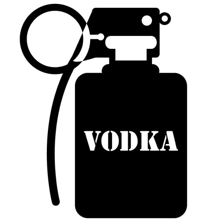 grenade, vodka