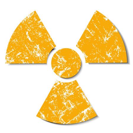 radiation danger Vector
