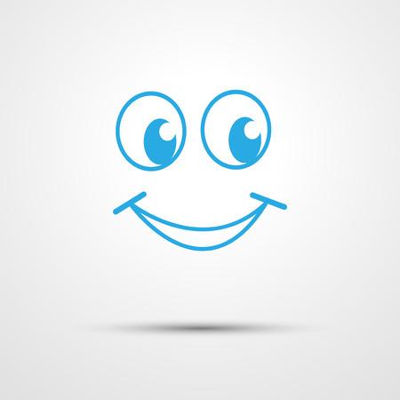 white smile: Sorriso Vettoriali