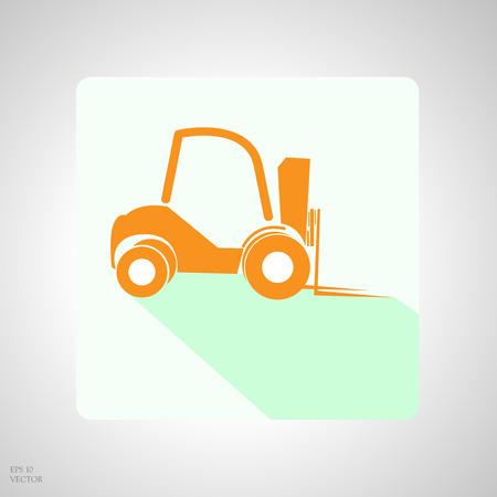 machinery: App icon construction machinery
