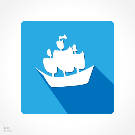 maritime accident: app icon ship