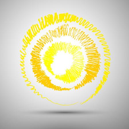 """słońce: SÅ'oÅ""""ce Ilustracja"""