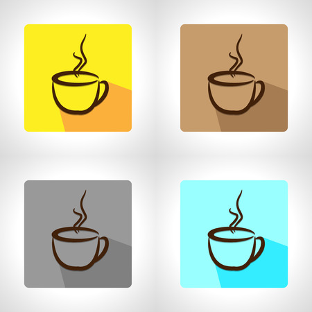 cup of coffee: cup coffee app icon