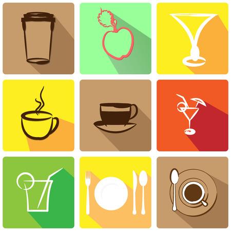 essen und trinken: App-Symbol Essen trinken