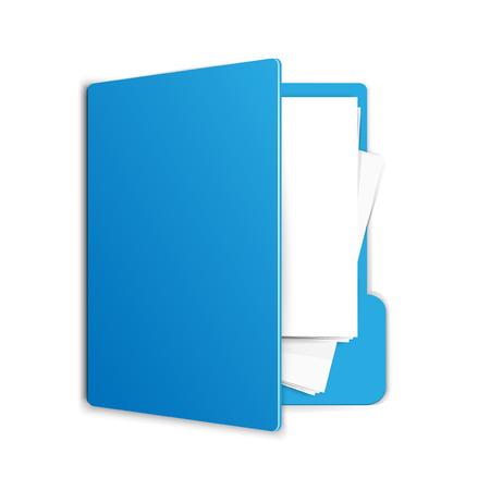 Folder illustration