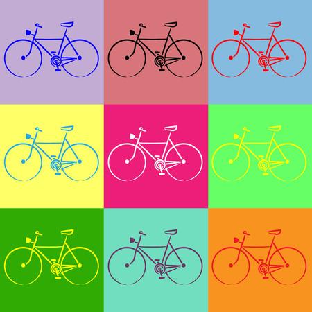 the bike Vector
