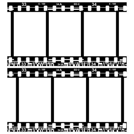 darkroom: film on white