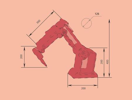 robotics: robotics Illustration